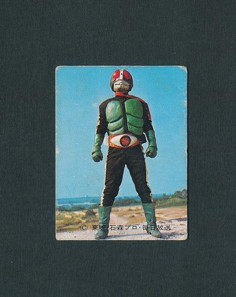 カルビー 旧 仮面ライダー カード 35 ラッキーカード