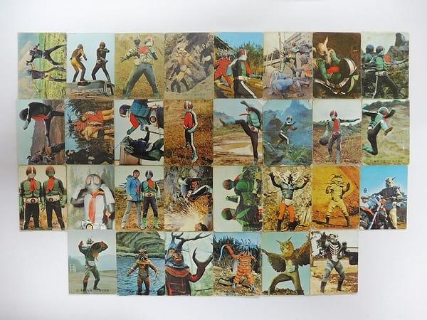 カルビー 旧 仮面ライダー カード 84 30枚