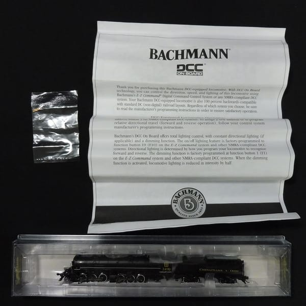 バックマン spectrum H-4 2-6-6-2 蒸気機関車 / Nゲージ