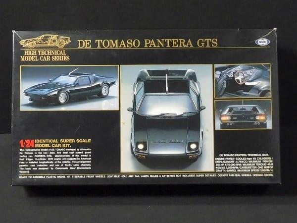 東京マルイ 1/24 デ・トマソ・パンテーラ GTS 黒
