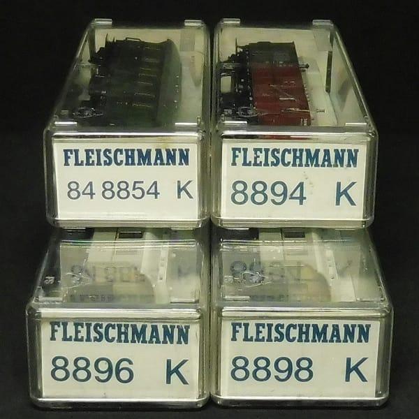 フライシュマン 客車 84 8854 8894 他 / 4両 Nゲージ