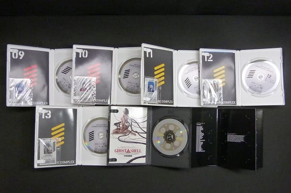 攻殻機動隊 STAND ALONE COMPLEX DVD 全13巻 + 劇場版_3