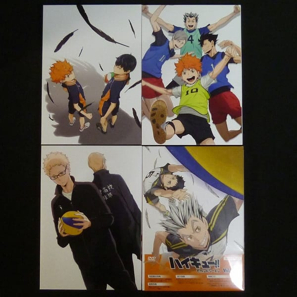 DVD ハイキュー!! セカンドシーズン Vol.1~Vol.4_1
