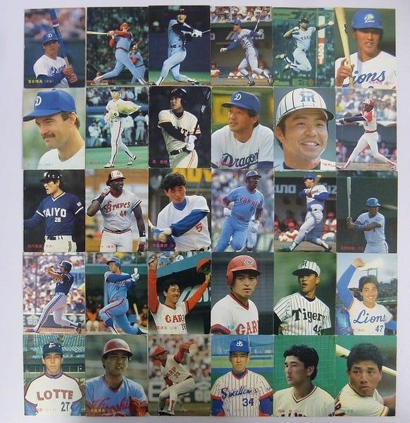 カルビー プロ野球チップス カード 87年 102~136 30枚_1