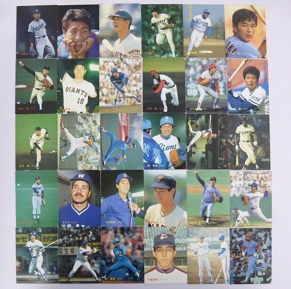カルビー プロ野球チップス カード 87年 218~254 30枚_1
