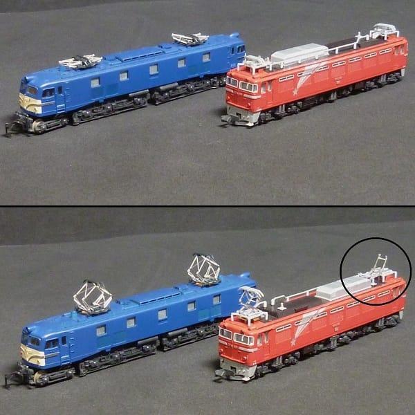 Nゲージ KATO EF81 北斗星 EF58 ブルー / 鉄道模型_3