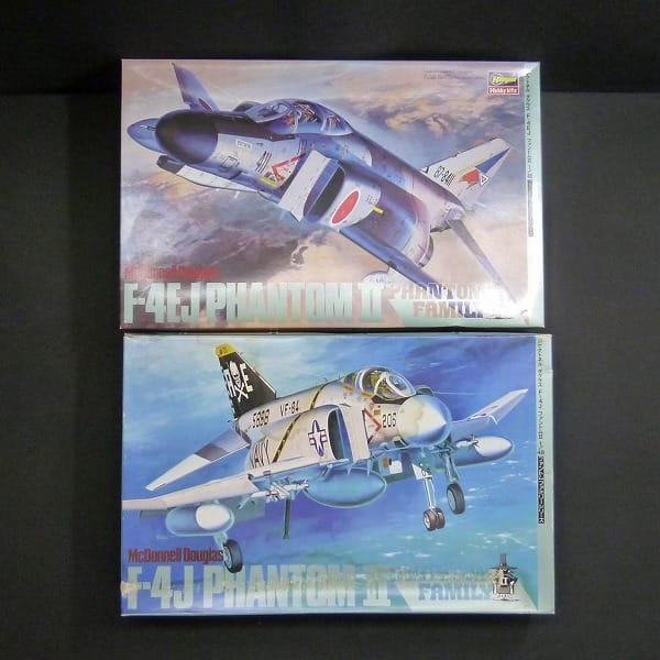 ハセガワ 1/48 ファントムファミリー F-4J F-4EJ_1
