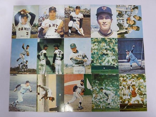カルビー プロ野球カード 1973年 29~50 巨人 旗版 15枚_1