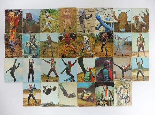 カルビー 旧 仮面ライダー カード 20 49 30枚_1