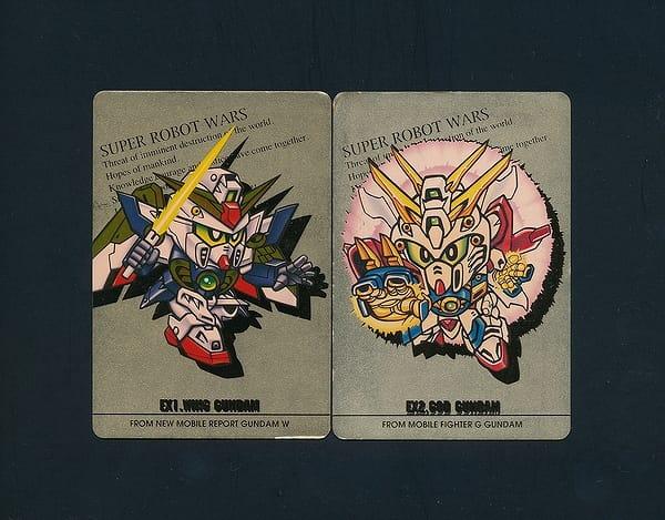 スーパーロボット対戦 カードダス キラ ゴッドガンダム_3