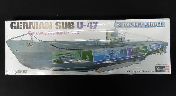 Revell 53.3m ドイツ潜水艦 U-47 内部再現モデル_1