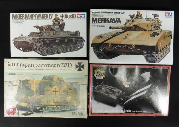 1/35 ドイツ Ⅳ号戦車 D型 メルカバ主力戦車 他_1