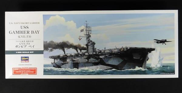 ハセガワ 1/350 護衛空母 CVE-73 ガンビアベイ_1