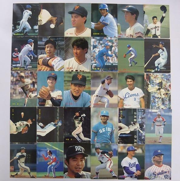 カルビー 当時 プロ野球カード 1987年 No.288~319 30枚_1