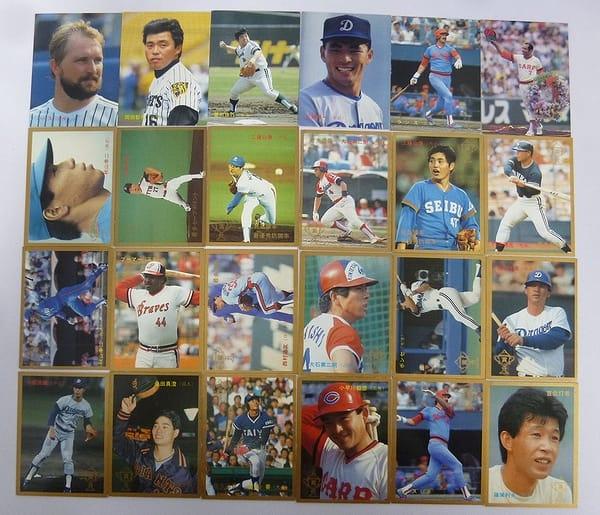 カルビー 当時 プロ野球カード 1987年 No.320~345 24枚_1