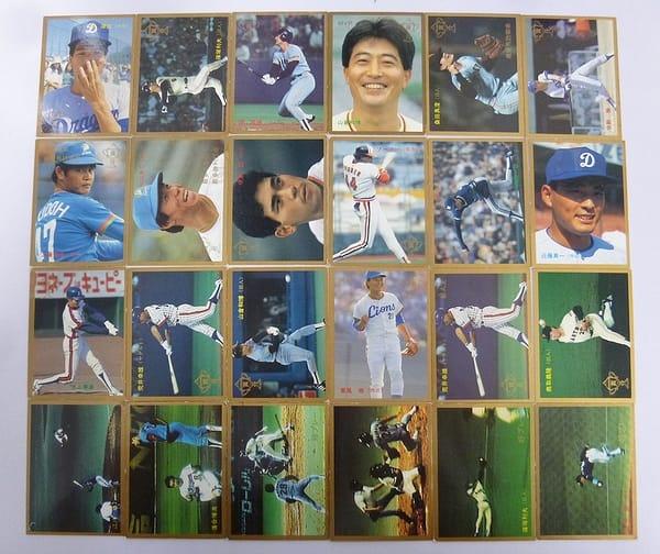 カルビー 当時 プロ野球カード 1987年 No.346~381 24枚_1