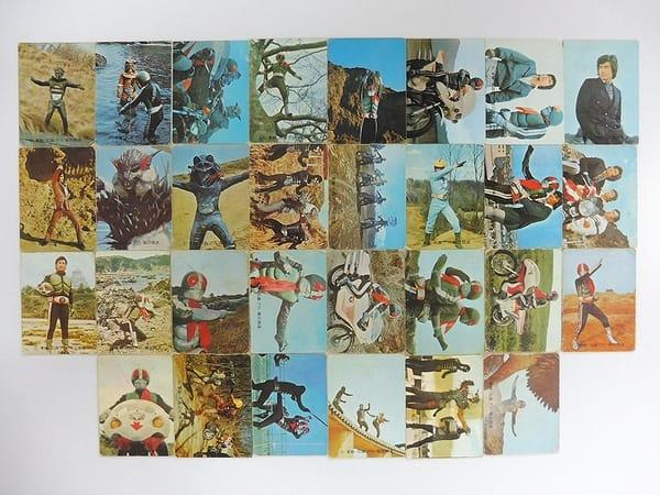 カルビー 旧 仮面ライダー カード 116 145 30枚 コンプ_1