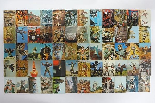 カルビー 旧 仮面ライダー カード 146 205 60枚 コンプ_1