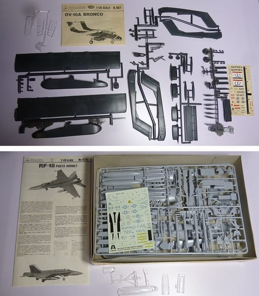 1/48 戦闘機プラモ ホーネット RF-18 スツーカ ME-262他_2
