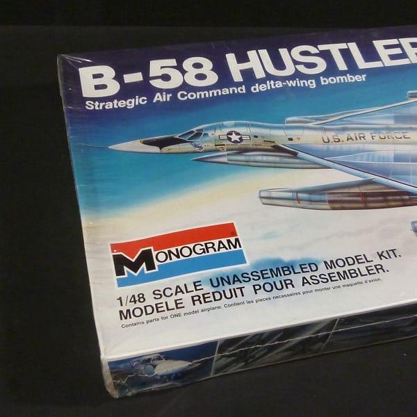 モノグラム 1/48  5704 USAF B-58 ハスラー_3