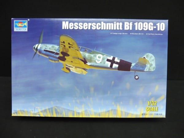 トランペッター 1/32 メッサーシュミット Bf-109G-10_1
