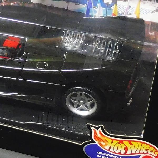 ホットウィール 1/18 フェラーリ F50 1995 黒_3