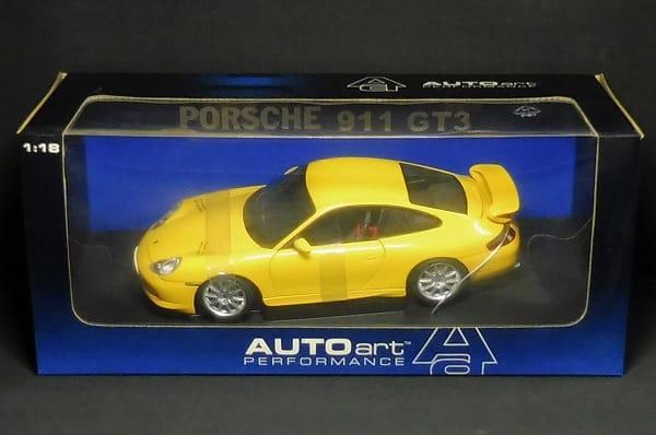 AUTO art 1/18 ポルシェ911 GT3 / オートアート PORSCHE