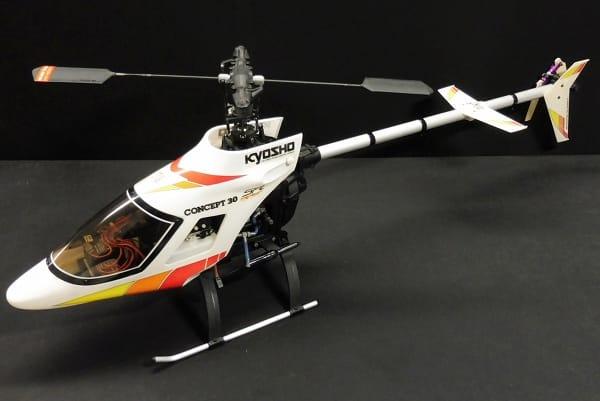 京商 コンセプト30 SR / ラジコンヘリ エンジンヘリ R/C
