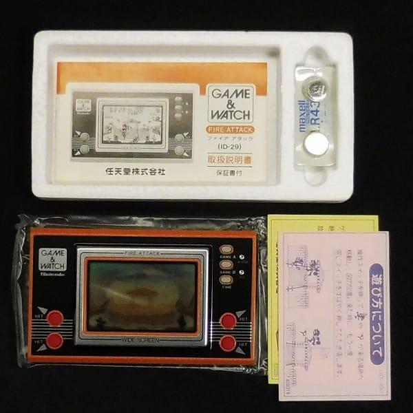 任天堂 ゲームウォッチ ID-29 ファイアアタック ワイド_2