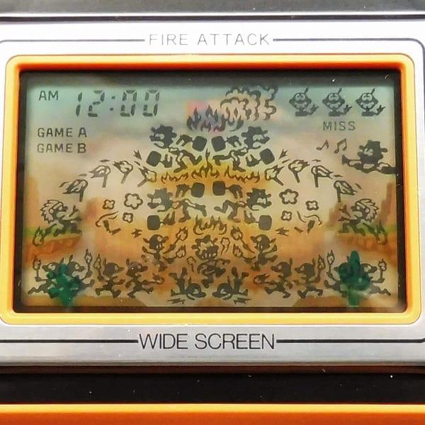 任天堂 ゲームウォッチ ID-29 ファイアアタック ワイド_3