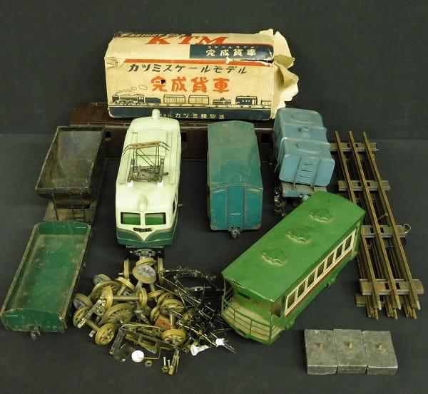 カツミ KTM 当時 0ゲージ 有蓋貨車 電気機関車 他_1