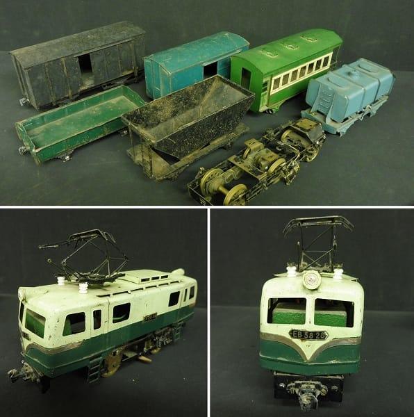 カツミ KTM 当時 0ゲージ 有蓋貨車 電気機関車 他_2