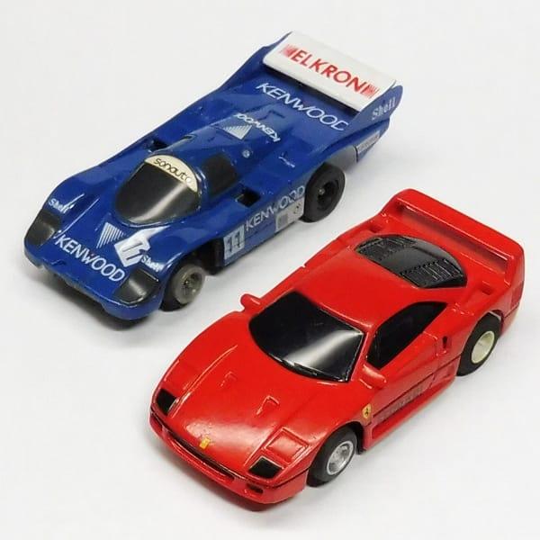 HOスロットカー フェラーリF40 , ポルシェ956 KENWOOD