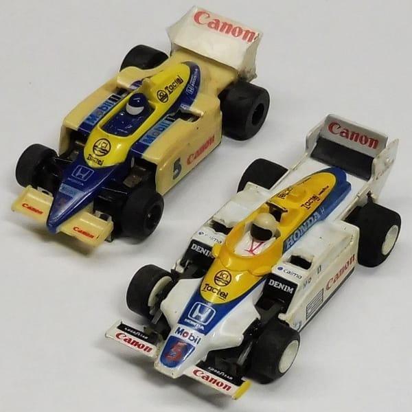 HOスロットカー ウィリアムズ F1 #5 キャノンカラー
