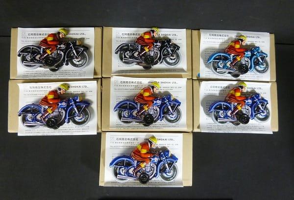 TINTOY ブリキのバイク 7台 / フリクション_1