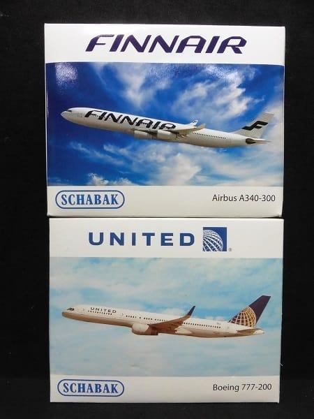 シャバク 1/600 フィンエアー A340-300 ユナイテッド_1
