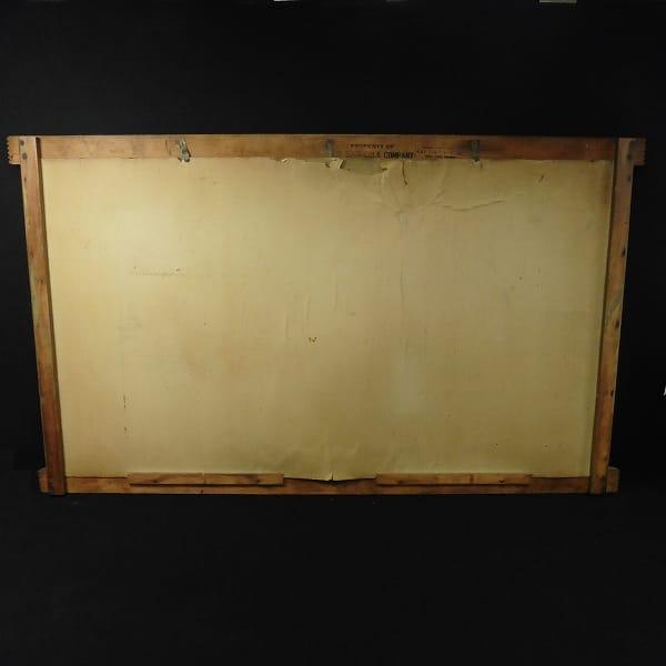 コカコーラ アメリカン 木製 看板 / 昭和 レトロ_2