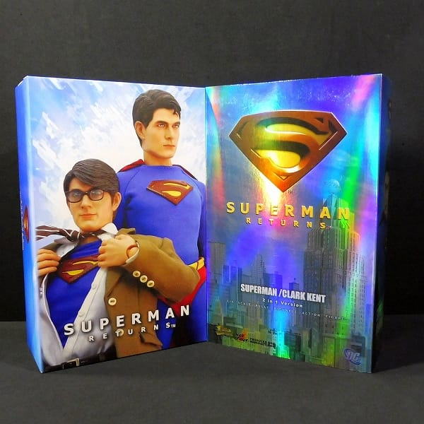 ホットトイズ スーパーマン リターンズ 1/6 2 IN 1 ver.