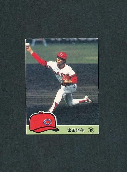 カルビー プロ野球カード 1984年 No.385 津田恒美_1