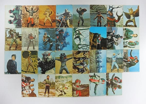 カルビー 旧 仮面ライダー カード 105 30枚_1