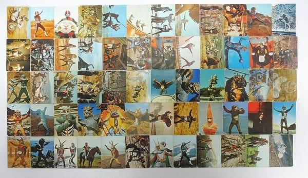 カルビー 旧 仮面ライダー カード 138 60枚