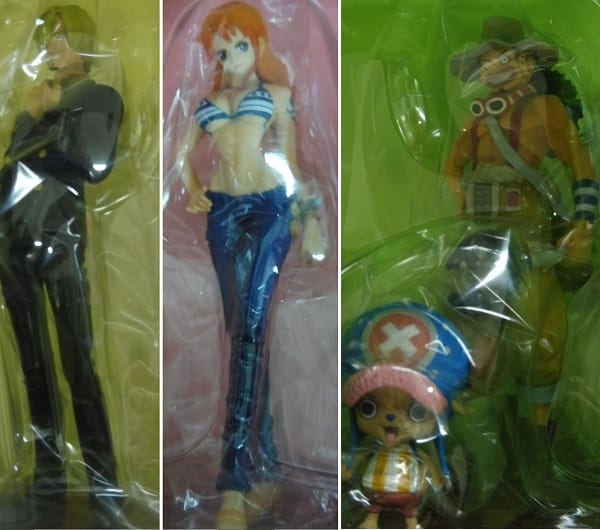 ONE PIECE 一番くじ figure チョッパー ナミ 他_2
