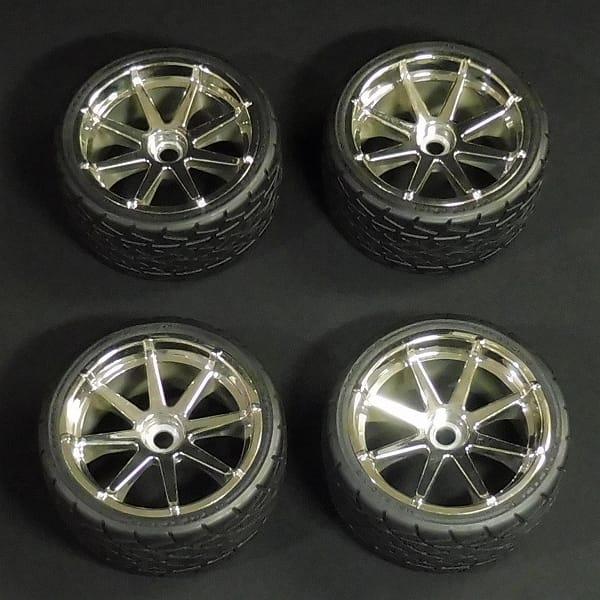 HPI フォルトラインタイヤ ブラストホイール クローム