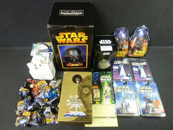 STARWARS ウォーターグローブ R2-D2缶ホルダ 他