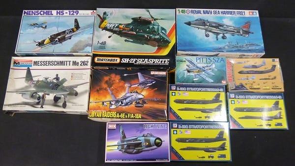 飛行機 プラモ ピッツS-2A デザートシールド1他
