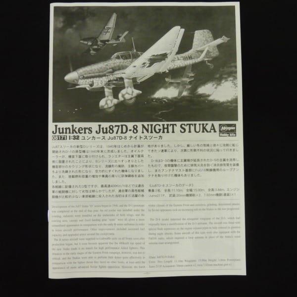 ハセガワ 1/32 ユンカース Ju87D-8 ナイトスツーカ_2