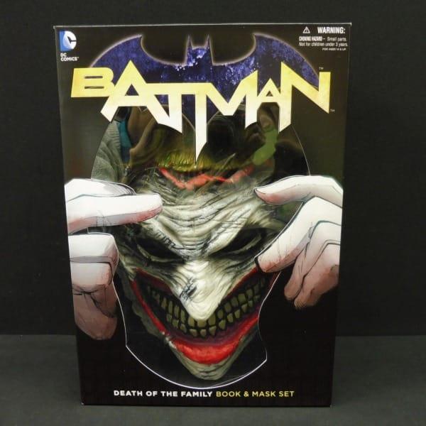 DC COMICS バットマン ブック ジョーカーマスクセット