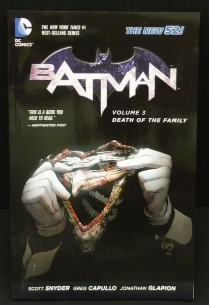 DC COMICS バットマン ブック ジョーカーマスクセット_3