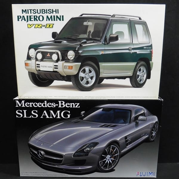 フジミ 1/24 メルセデス ベンツSLS AMG パジェロ