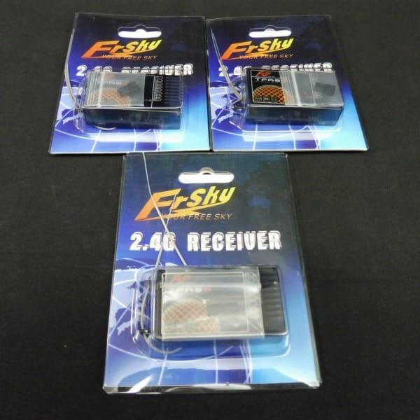 FrSky 2.4GHz 8ch受信機 TFR8S フタバFASST SBUS互換